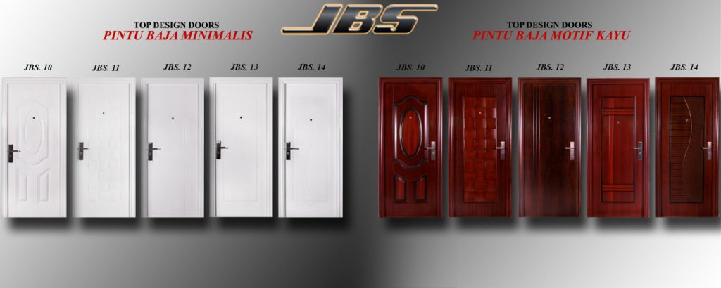 Pintu Rumah Minimalis Terbaru - Pintu Rumah Minimalis 2 Pintu
